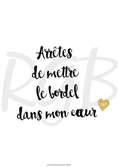 Wedding Quotes : QUOTATION - Image : Quotes Of the day - Description Affiche papier citation et texte d'amour Valentine's Day Quotes, Top Quotes, Best Quotes, Daily Quotes, I Love You Quotes, Love Yourself Quotes, Quote Of The Day, Image Citation, Quote Citation