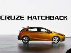 The 2017 Chevrolet Cruze Hatchback is introduced during the 2016 North American International Auto Show held at Cobo Center in downtown Detroit on Monday, Jan. Chevrolet Cruze, Chevrolet 2017, Chevy, Detroit Auto Show, Cars, American, Jan 11, Vehicles, Nice