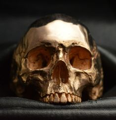 Skull Ring 18kt rose gold skull 50 grams mens biker masonic handmade jewelry #IntoTheFireJewelry #SkullRingBiker
