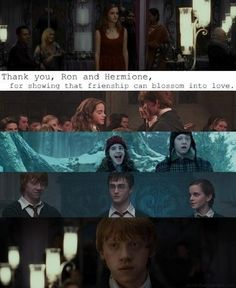 ron and hermione An P.S. Jennie, you know what I'm thinking ;) @JennieFlinders