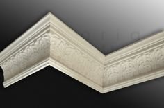 Acanthus cornice with a late victorian/ arts and crafts feel - needs a large room to carry it off! Crown Molding, Moulding, Arts And Crafts House, Home Crafts, Interior Trim, Interior Design, Coving, Property Design, Ceiling Rose