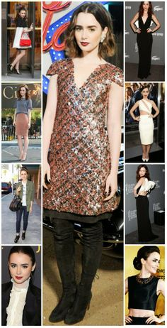 Lily Collins' Style KILLED IT in 2013!