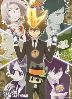 Akira Amano, Artland, Katekyo Hitman Reborn!, Lambo, Hayato Gokudera