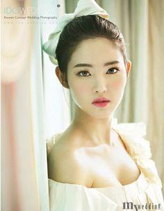 images of korean brides makeup | Korean bridal makeup