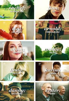 mmfd characters + name meanings