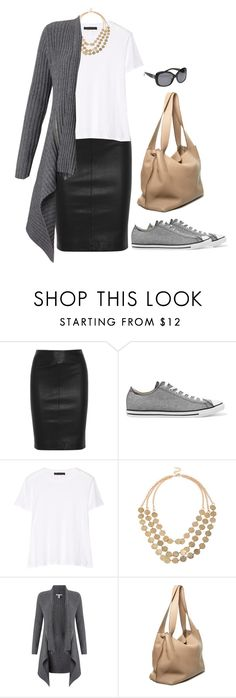 """""""Untitled #999"""" by tracileigh01 ❤ liked on Polyvore featuring Joseph, Converse, The Row, Autumn Cashmere and Chanel"""
