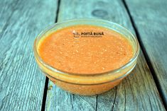 Mujdei rapid, facut cu rosii crude Romanian Food, Vegan Recipes, Vegan Food, Cantaloupe, Pudding, Desserts, Youtube, Salads, Vegane Rezepte