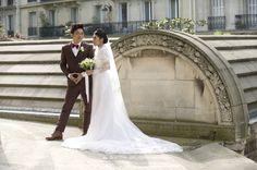 Chapel expiatoire wedding photographer