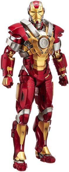 Iron Man 3 Action Figure Iron Man Mark 17 Heartbreaker By Hot Toys Marvel Dc Comics, Marvel Heroes, Marvel Characters, Iron Man Fan Art, New Iron Man, Hot Toys Iron Man, Iron Man Wallpaper, Marvel Cinematic, Action Figures