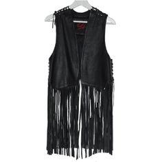 http://www.defiledestyles.net/?producto=chocolate-leather-fringed-vest-size-m&lang=es CHOCOLATE – Chaleco de piel con flecos (Talla M)