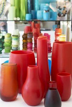 dinosaur design vases