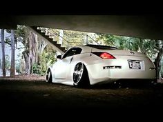 K3 Projekt Wheels   CAMBERGANG collab featuring IND-SB6 Wheels (Slammed/Bagged 350z) - YouTube