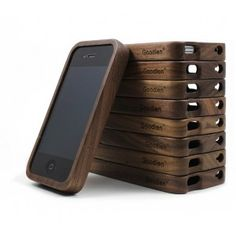 The true walnut wood iPhone 4/4s case is a simple yet elegant bit of upscale hardware to protect your cell phone. Pick from a range of natural woods,black walnut and slide the pieces together around your mobile.