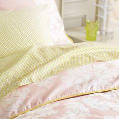 serena & lily | ellory duvet cover & sham | 300-thread count | $180