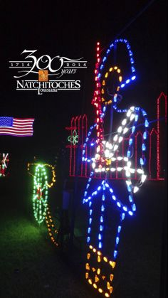 natchitoches christmas festival of lights in natchitoches louisiana wwwnatchitocheschristmascom festivals - Natchitoches Christmas Festival