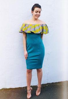 5d799de8796f African Print Ankara Dashiki Dresses London by Eldimaa