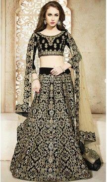 #Black #Color #Velvet #ALine #Style #Designer #Lehenga Choli | FH474073418 #heenastyle, #designer, #lehengas, #choli, #collection, #women, #online, #wedding , #Bollywood, #stylish, #indian, #party, #ghagra, #casual, #sangeet, #mehendi, #navratri, #fashion, #boutique, #mode, #henna, #wedding, #fashion-week, #ceremony, #receptions, #ring , #dupatta , #chunni , @heenastyle , #Circular , #engagement