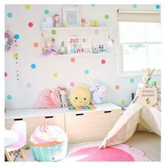 Sweet and pretty girls room