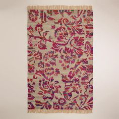 5x8 recycled silk flatwoven rug $299 http://www.worldmarket.com/product/5%27x8%27+recycled+silk+flatwoven+rug.do?&from=fn