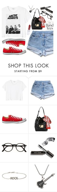 """Band T-Shirt: Arctic Monkeys 23-7-2017"" by anamarija00 ❤ liked on Polyvore featuring Monki, Levi's, Rodin, Converse, Love Moschino, Bobbi Brown Cosmetics, Zadig & Voltaire, arcticmonkeys and bandtee"