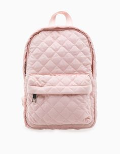 Quilted mini backpack - BACKPACK - WOMAN | Stradivarius Republic of Ireland