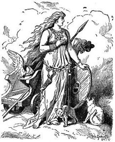 Frigg, Norse Goddess