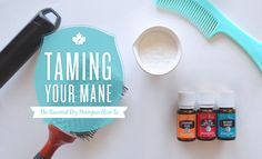 Taming Your Mane: The Essential Dry Shampoo How To   Young Living Canada Blog