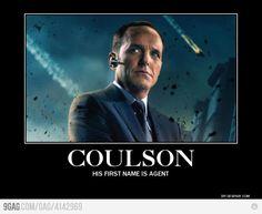 Agent Phil Coulson. My main favorite avenger