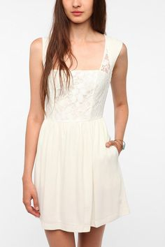 Cooperative Lace Overlay DressCooperative Lace Overlay Dress