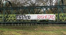 Fans of West Didsbury & Chorlton made the gesture before their local derby with Wytnehshawe Amatuers Alan Shearer, Nobby, Marcus Rashford, Favorite Son, Over The River, Sons Birthday, Football Fans, Manchester United, England