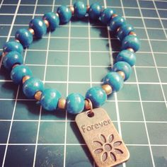 Pulsera forever. Mas info y fotos www.facebook.com/sawahechoamano - @andysztein- #webstagram