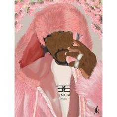 """Killa Cam"" – Aaronya Paints Poster Making, Paper Weights, Giclee Print"