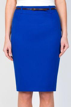Юбка-карандаш Emka Fashion 544-edita - Malinka-fashion.ru Skirt Outfits, Dress Skirt, Cute Outfits, Denim Fashion, Skirt Fashion, Womens Dress Suits, Pretty Dresses, High Waisted Skirt, Vintage Outfits