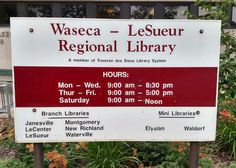 October events for Waseca-Le Sueur Reginal Library System Mankato Times Level Up: Stop-Motion Legos Create your own Lego movie using iPads and Legos at Le Sueur Public Library on October 19th at 3:30 pm! Registration required. This free event is geared for ages 7-12. Due to limited space, registration is required. Stop by the Library…