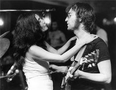 yoko & lennon. 1972.
