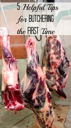 Beginner Gardening A homesteader gives 5 tried-and-true butchering tips for beginners. - Here are some butchering tips that will make the process easier. From a list of tools to advice on cuts, these 5 suggestions help keep things simple. Homestead Farm, Homestead Survival, Cooking For Beginners, Gardening For Beginners, Cooking Tips, Raising Goats, List Of Tools, Future Farms, Survival Food
