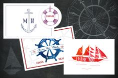 Nautical & Knot Vector Illustrations by beckynimoy on Creative Market