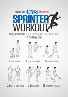 Workout plans, an awesome bit of workout strategies. For more effective yet effective fitness workout plans piece, study the pin plan ref 9281380040 today. Agility Workouts, Gym Workouts, At Home Workouts, Track Workouts For Sprinters, Sprinting Workouts, Weight Workouts, Track Training, Soccer Training, Speed Training Drills