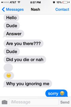 nash's texts to cameron are so great