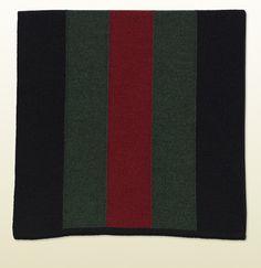 knit signature web scarf.