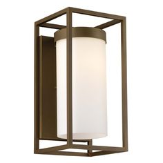 Cube F8557 Outdoor Wall Sconce & Philips Forecast Lighting | YLighting  $264