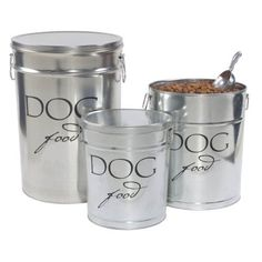 Harry Barker Dog Food Storage - Silver - 10 lb - http://dogfoodstorage.bgmao.com/harry-barker-dog-food-storage-silver-10-lb