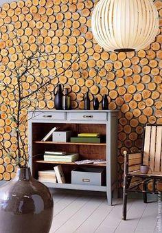 Купить Стена или панно из срезов/спилов - срезы, дерево, декор для интерьера, природные материалы