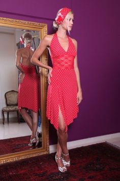 Red is our favorite summer colour! Designed by Victoria Haitoglou Red Lace, Floral Lace, Tango Shoes, Tango Dress, Argentine Tango, Slit Skirt, Asymmetrical Skirt, Feminine Dress, Sweet Dress