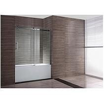 OVE Decors Zola 60 in. Frameless Bathtub Doors
