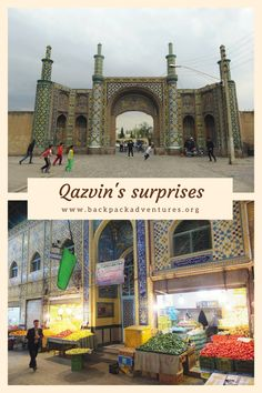 Iran - The top 8 things to see and do in the city of Qazvin, Iran. The place that is used as a base to explore the Alamut valley and has many surprises in itself.