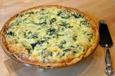 89n Spinach Pie, Spanakopita, Mozzarella, Quiche, Cooking Recipes, Yummy Food, Cheese, Fresh, Baking