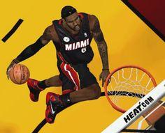 Lebron James Wearing His Nike Lebron Bred 11 Sneaker In NBA 2K14