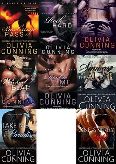 Românticos e Eróticos  Book: Olivia Cunning - Sinners em Turnê  #1 a #6.1