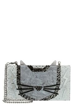 KARL LAGERFELD MINAUDIERE - Clutch - black £115.00 # #relevant #ReviewsClothing